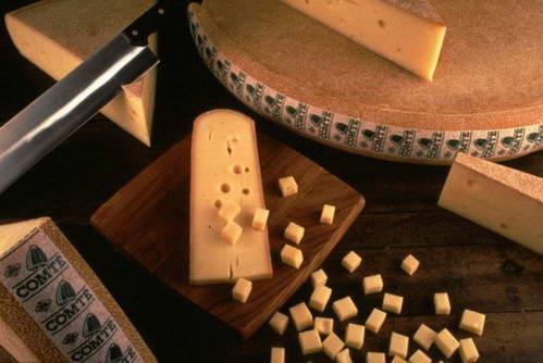 גבינת קונטה, מתאימה לפונדו גבינות