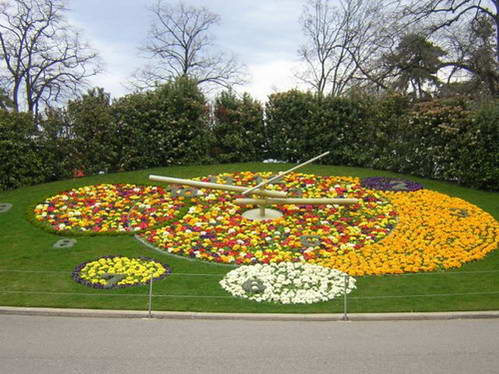 שעון הפרחים, אחד מסמליה של העיר ז'נבה
