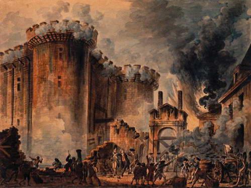 המהפכה הצרפתית, ההסתערות על הבסטיליה 1789