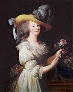 המלך לואי ה- 16 והמלכה מרי אנטואנט