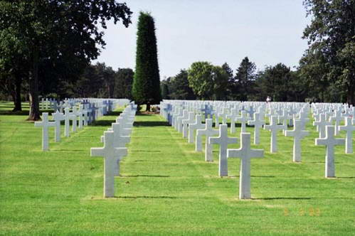 בית הקברות הצבאי האמריקאי, קולוויל סור מר