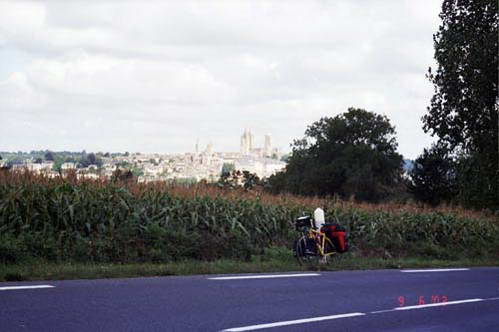 תצפית על העיר קונטאש מכביש 7-D