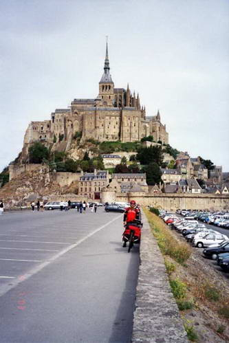אני, האופניים ומון סן מישל (מצפון)