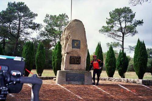 בדרך לוואן, אנדרטה לחללי צבא צרפת במלחמת הודו-סין בשנות ה- 50