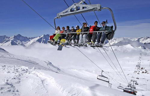 צרפת, תשתיות מצויינות באתרי הסקי