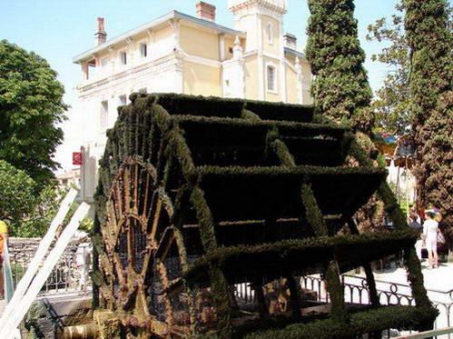 איסלה א-לה סורג', טחנה מונעת בגלגל עץ