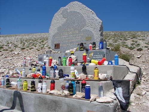 האנדרטה לזכרו של תום סימפסון, רוכב הטור דה פראנס