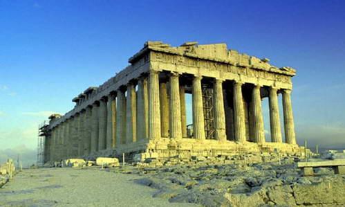 הפרתנון באקרופוליס, אתונה