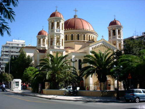כנסייה בסלוניקי, צפון יוון