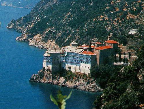 מנזר Gregoriou בהר אתוס, צפון יוון