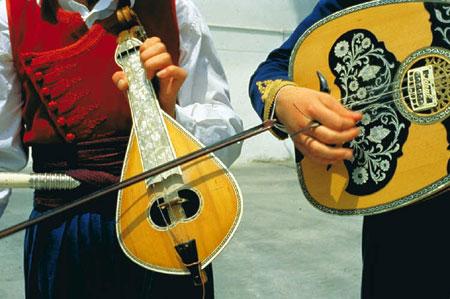 כלי נגינה יווניים