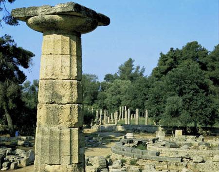עתיקות אולימפיה, פלופונסוס