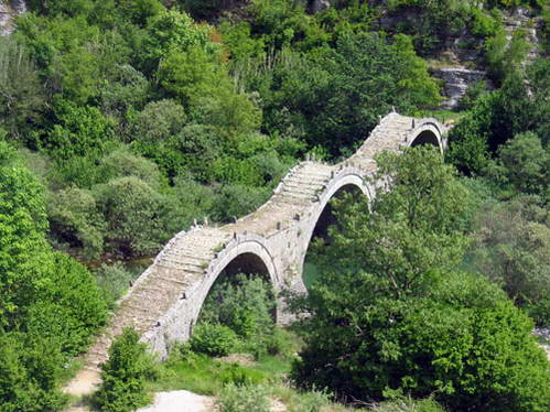 גשר עות'מני בחבל זגוריה, צפון יוון