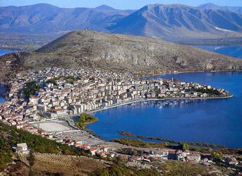העיר קסטוריה, צפון יוון