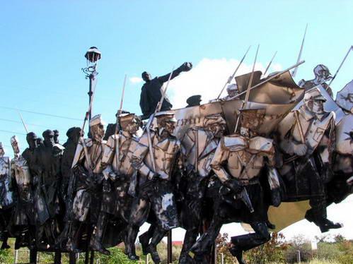 פסל לזכרו של בלה קון, בודפשט
