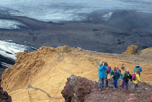 טרק לרמה המרכזית של איסלנד