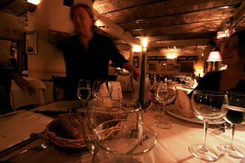בילוי במסעדה איטלקית