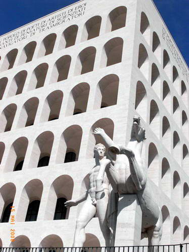 הקולוסיאום המרובע, רומא