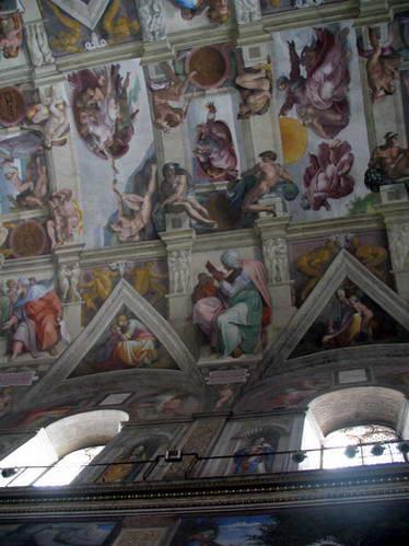תקרת הקפלה הסיסטינית, רומא