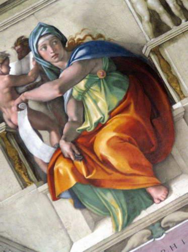 ציור הסיבילה מדלפי היפיפייה, רומא