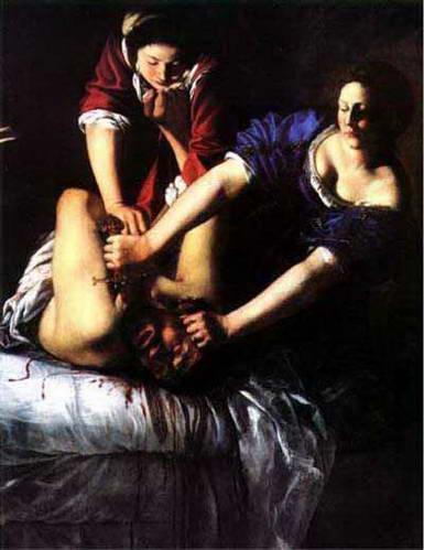 יהודית הורגת את הולופרנס, גלריה אופיצי, פירנצה