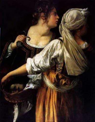 יהודית והמשרתת בגלריה פלטינה, ארמון פיטי