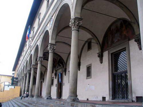 אכסדרת בית החולים של התמימים, פירנצה