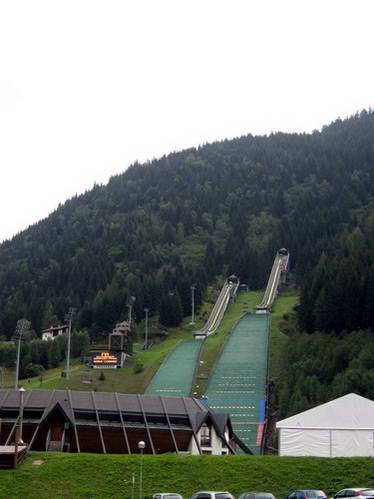 מגלשות הסקי בעמק ואל די פיימה, איטליה