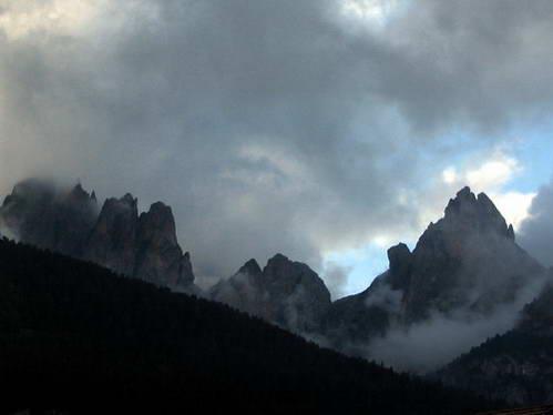 רכס רוזנגארטן, איטליה
