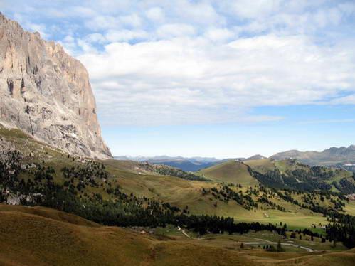 רכס סלה, הרי הדולומיטים באיטליה