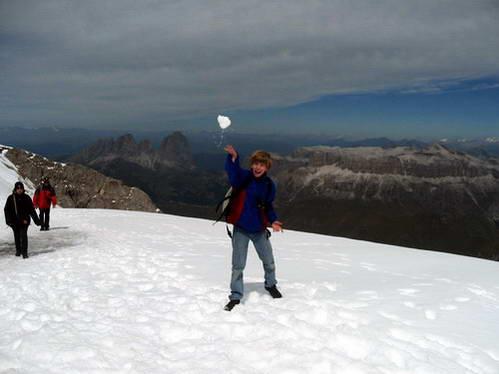רכס סלה וססולונגו מקרחון המרמולדה, איטליה