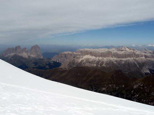 הדולומיטים באיטליה: רכס סלה וססולונגו