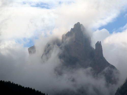 רכס רוזנגארטן, תצפית מואל די-פאסה, איטליה