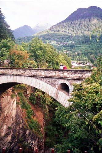 עמק ואל סאברנץ', צפון איטליה