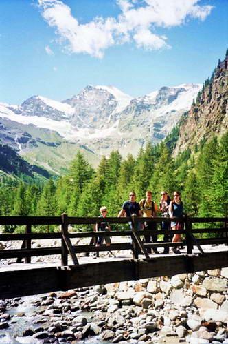 תחילתו של המסלול להר הרבטט, איטליה