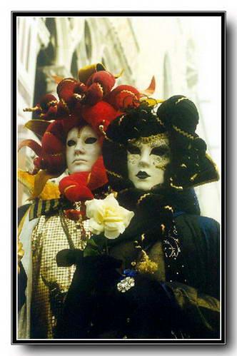 מסכות בקרנבל המסכות של ונציה