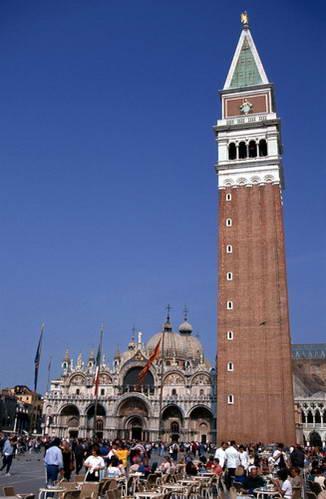 הקמפנילה של בזיליקת סן מרקו, ונציה