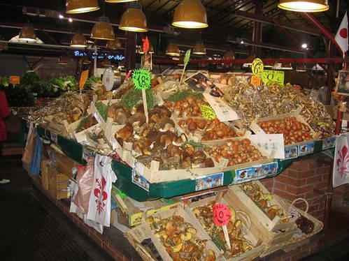 השוק המקורה של פירנצה, איטליה