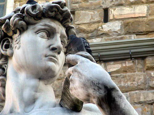 העתק של פסל דוד בכיכר הסניוריה, פירנצה