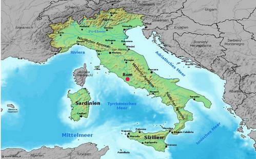 איטליה, המגף הבועט...