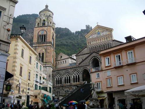 הדואומו של אמלפי, נאפולי, דרום איטליה