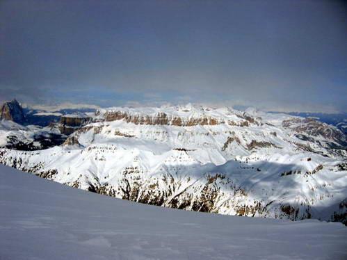 רכס סלה מפסגת המרמולדה, איטליה
