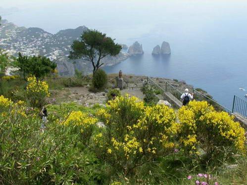 האי קפרי, איטליה