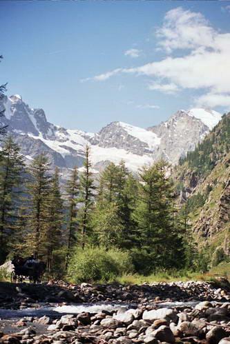 הרי האלפים במחוז ואל ד'אוסטה, צפון איטליה