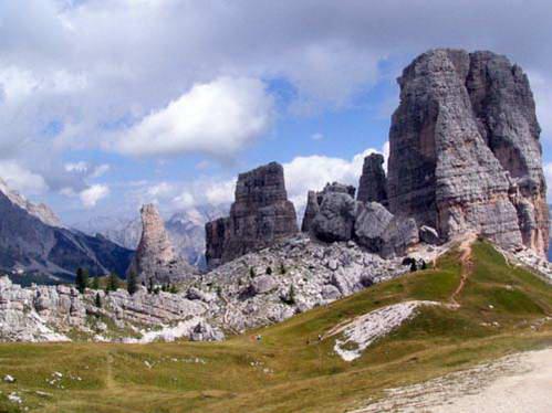 צ'ינקווה טורה במחוז ונטו, איטליה