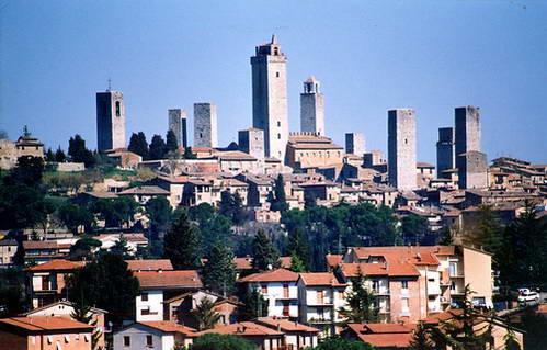 סאן ג'ימיניאנו, עיירת המגדלים הגבוהים, טוסקנה