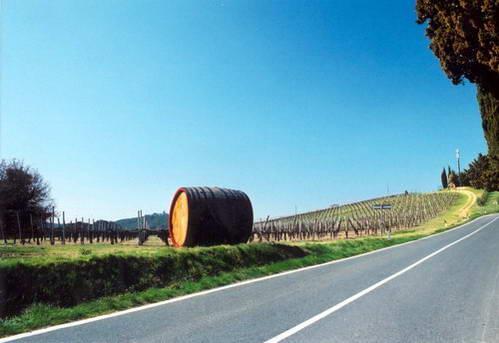 ארץ הקיאנטי, כרמים ויין בטוסקנה