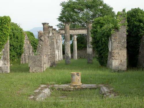 שרידי פומפיי העתיקה, איטליה