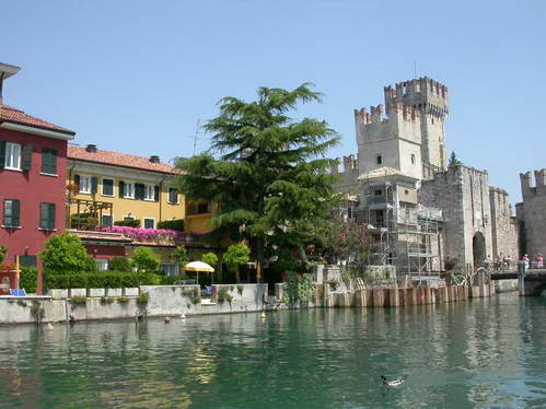 סרמיונה באגם גארדה, איטליה