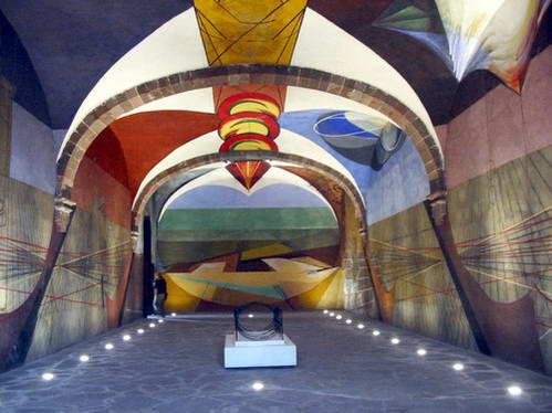 ציור חלל של סיקרוס, סן-מיגל, מקסיקו